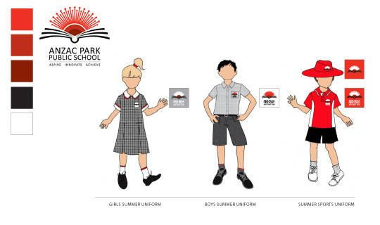anzac park school uniforms